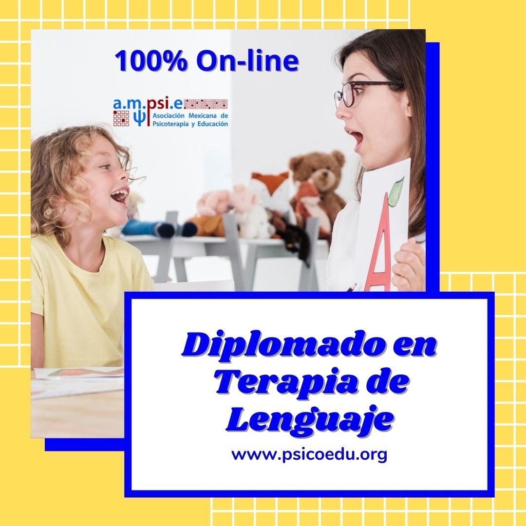 Diplomado en terapia de lenguaje